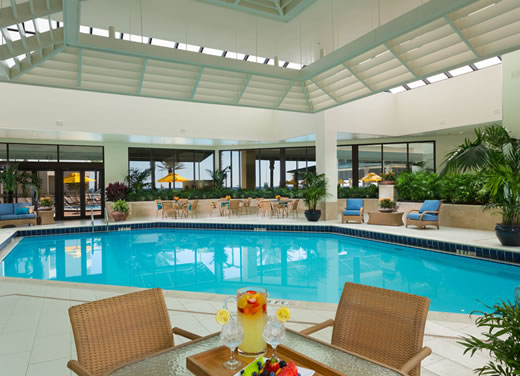 Florida resort pools indoor and outdoor resort pools in destin for Ecr beach resorts with swimming pool prices