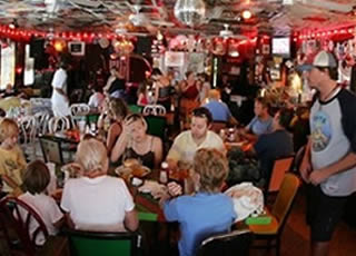 Picolo S Restaurant And The Red Bar Grayton Beach This Place Is A Real Favorite Among Locals Visitors Alike Known For Its Extremely Eclectic Décor