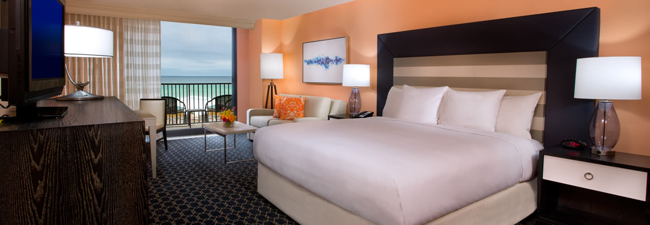 Destin Florida Hotels Hotel Beachfront Rooms Hilton Sandestin