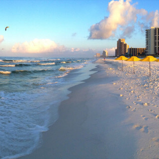 The beach at Hilton Sandestin Beach Golf Resort & Spa