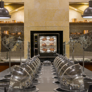 New rotisserie and buffet at Sandcastle's