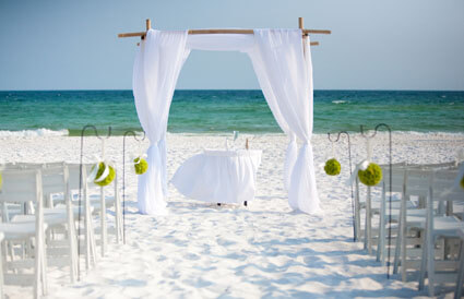 Destin Beach Weddings Florida Hilton Sandestin Beach Resort